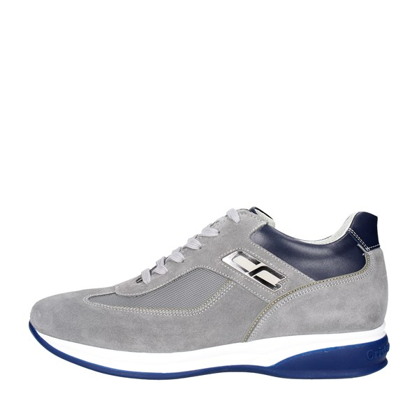 Cristiano Gualtieri Shoes Low Sneakers Grey/Blue 536-8