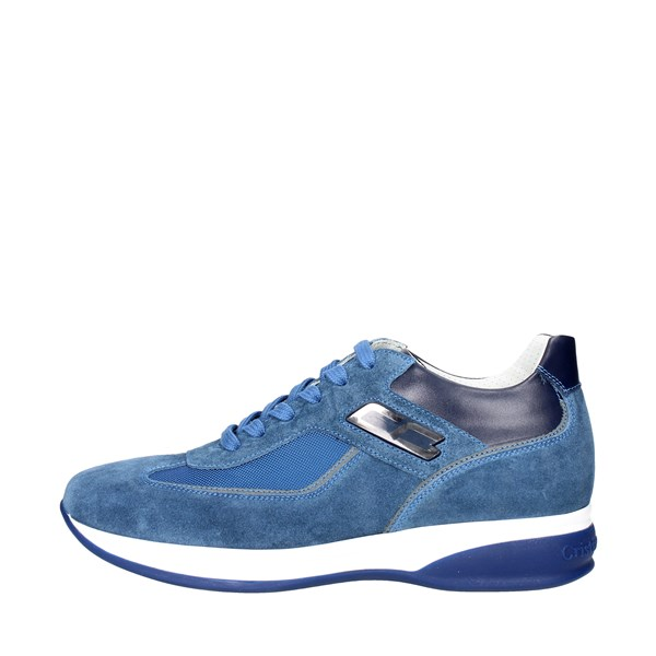 Cristiano Gualtieri Shoes Low Sneakers Blue 536-9