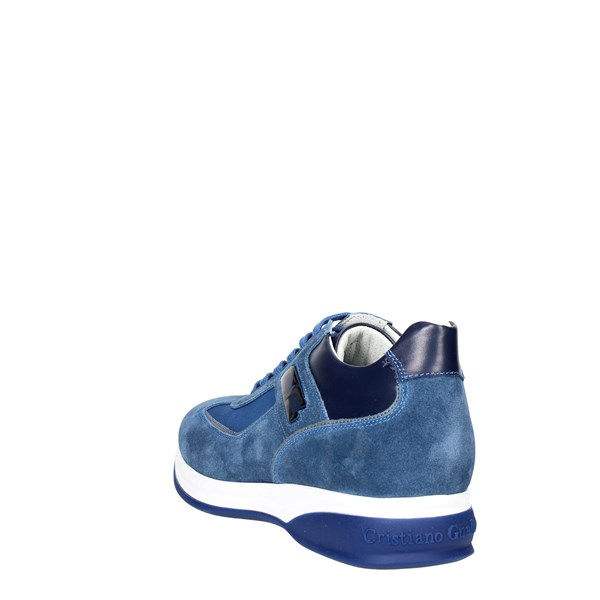 <Cristiano Gualtieri Shoes Low Sneakers Blue 536-9
