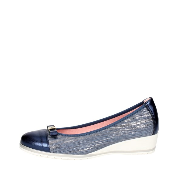 Pitillos Shoes Ballet Flats Blue 3502