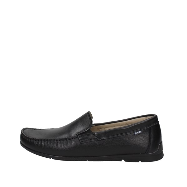 Baerchi Shoes Moccasin Black 7201