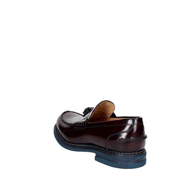 Zenith Shoes Loafers Burgundy 1521