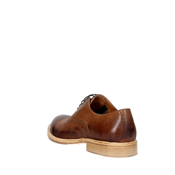 Marechiaro Shoes Parisian Brown leather 4433