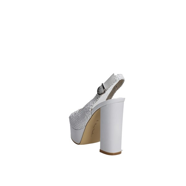 Luciano Barachini Shoes Sandals White 8076A