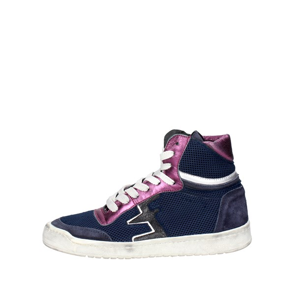 Serafini Shoes Sneakers Blue CAMP.29