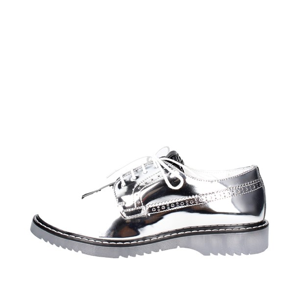 Cult Shoes Brogue Silver CLJ101704