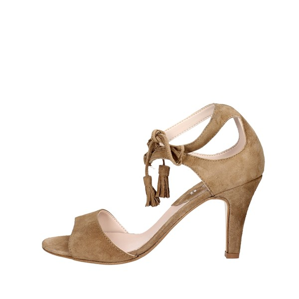 Keys Shoes Sandal Brown Taupe 5159