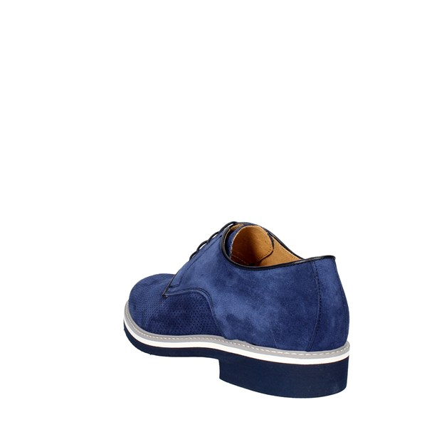 Divarese Shoes Brogue Blue 901