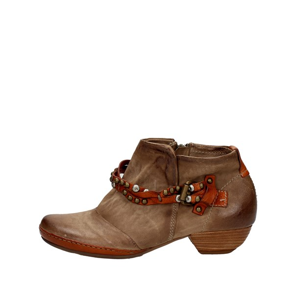 Airstep Shoes Ankle Boots With Heels Brown 125207