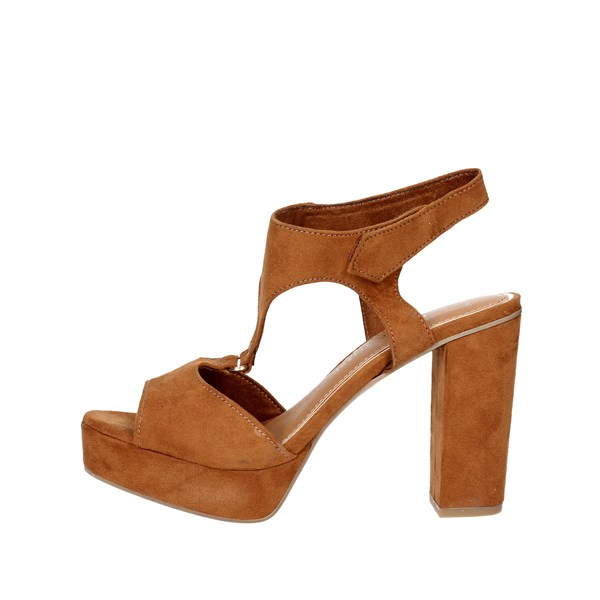 Marco Tozzi Shoes Sandal Brown leather 28376-38