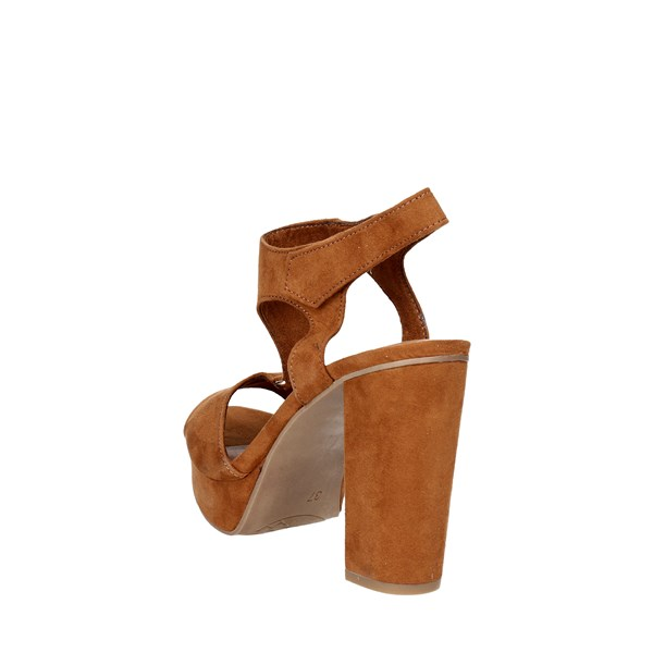 <Marco Tozzi Shoes Sandal Brown leather 28376-38
