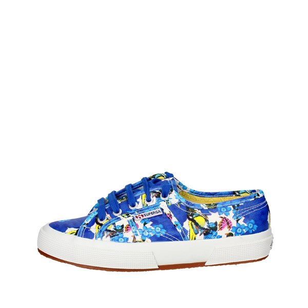 Superga Shoes Low Sneakers Blue 2750 FANTASY COTU(2)