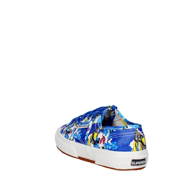 <Superga Shoes Low Sneakers Blue 2750 FANTASY COTU(2)