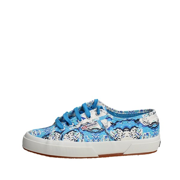Superga Shoes Low Sneakers Light Blue 2750 FANTASY COTU(8)