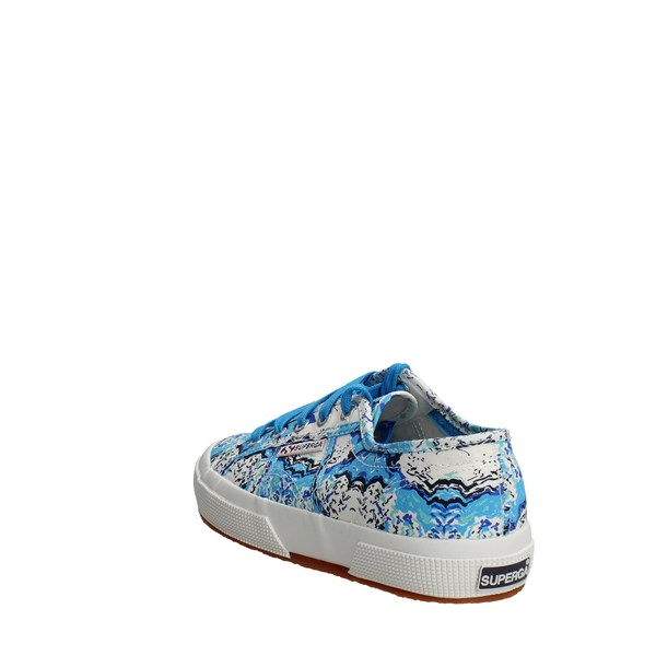 <Superga Shoes Low Sneakers Light Blue 2750 FANTASY COTU(8)
