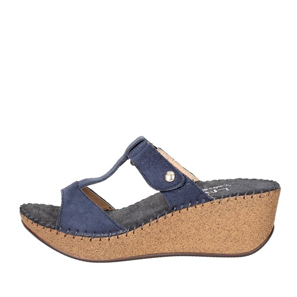 Ellerre Shoes Clogs Blue 6320