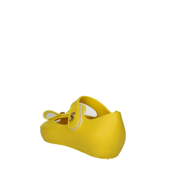 <World Colors Shoes Ballet Flats Yellow C046.1151
