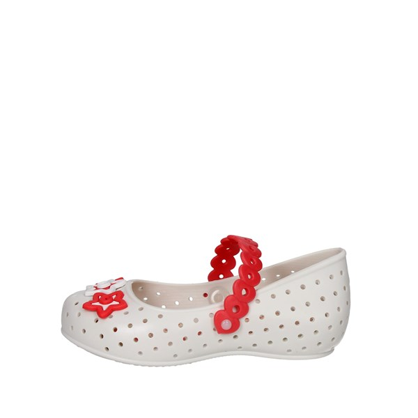 World Colors Shoes Ballet Flats White/Pink 017.092.1370