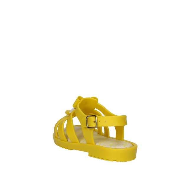 <World Colors Shoes Sandals Yellow F132.1502