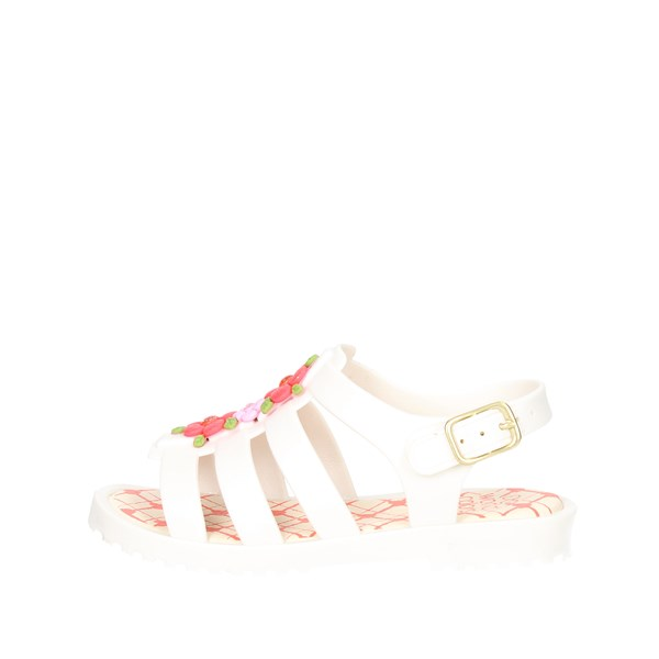 World Colors Shoes Sandals White F131.1204
