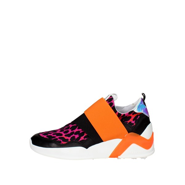 Serafini Shoes Sneakers Black/Fuchsia PE16DOV06