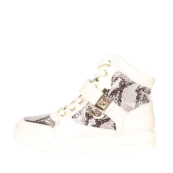 Liu-jo Shoes Sneakers Creamy-white S66015 P0252
