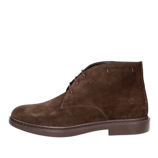 Docksteps Shoes Laced Brown DSE103573