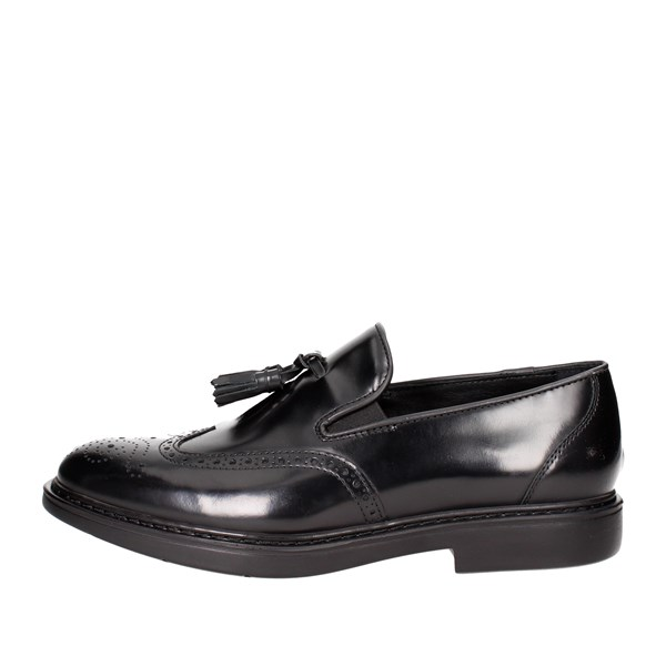 Docksteps Shoes Moccasin Black DSE103576
