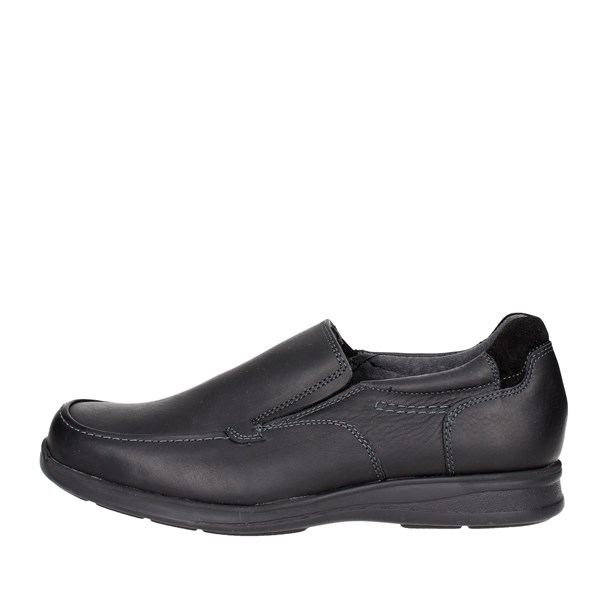 Baerchi Shoes Moccasin Black 4012