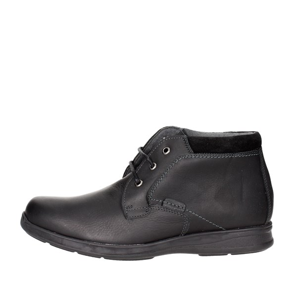 Baerchi Shoes High-laced Boots Black 4015