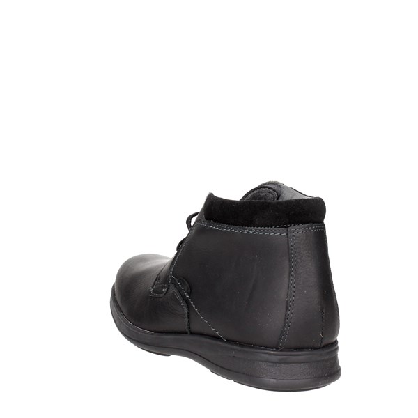 <Baerchi Shoes High-laced Boots Black 4015