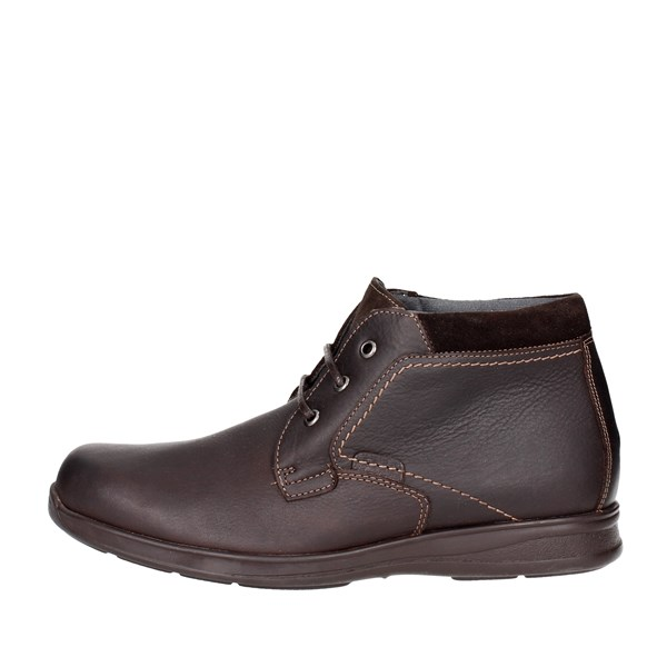 Baerchi Shoes High-laced Boots Brown 4015