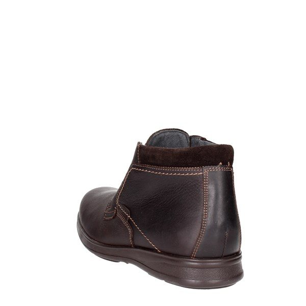 <Baerchi Shoes High-laced Boots Brown 4015