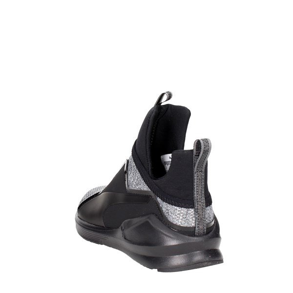 <Puma Shoes High Sneakers Black/Grey 190349 01