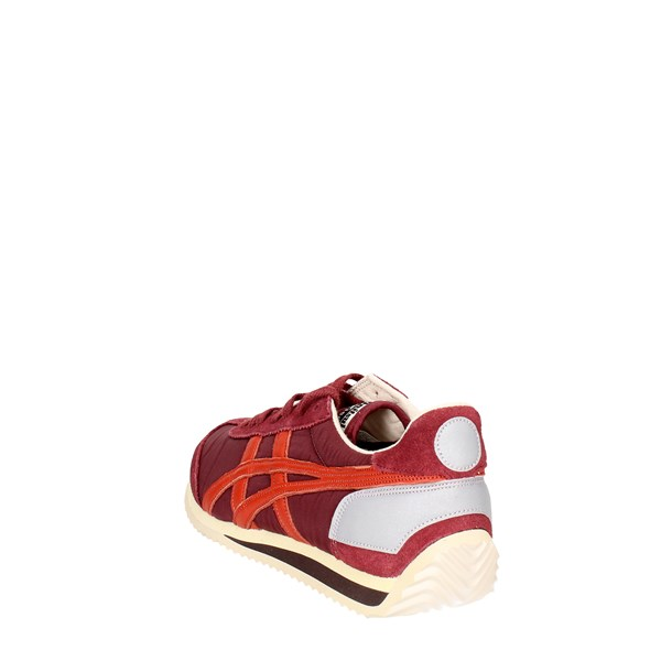 <Onitsuka Tiger Scarpe Donna Sneakers Bassa BORDEAUX D110N..2627