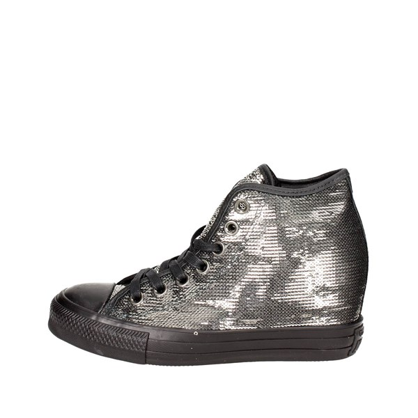 Converse Shoes High Sneakers Charcoal grey 559048C