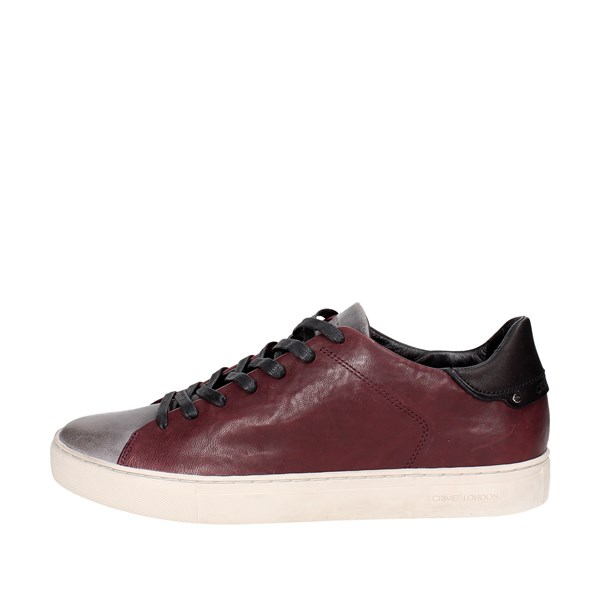 Crime London  Shoes Low Sneakers Burgundy 11300A17.71
