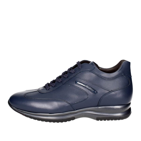 Cristiano Gualtieri Shoes Low Sneakers Blue 458/ST-A