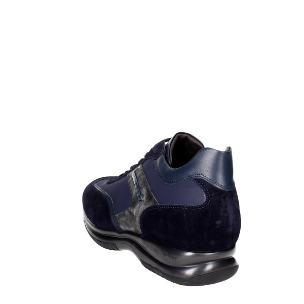 <Cristiano Gualtieri Shoes Low Sneakers Blue 458/1P-D