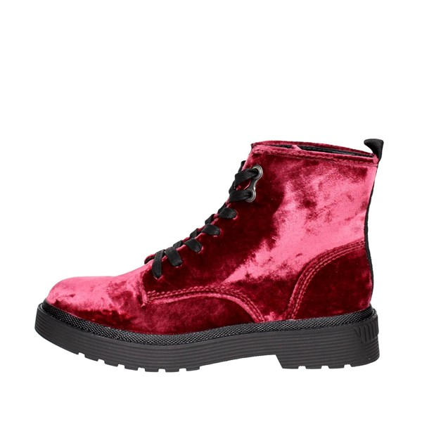 Calvin Klein Jeans Shoes Boots Burgundy R0553
