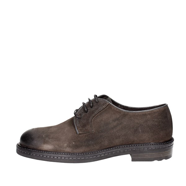 Exton Shoes Brogue Grey 4086
