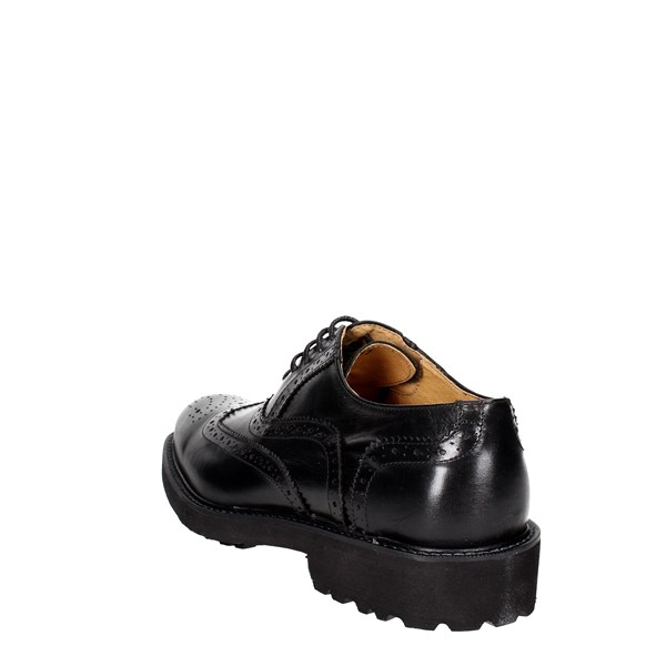 Exton Shoes Brogue Black 5447