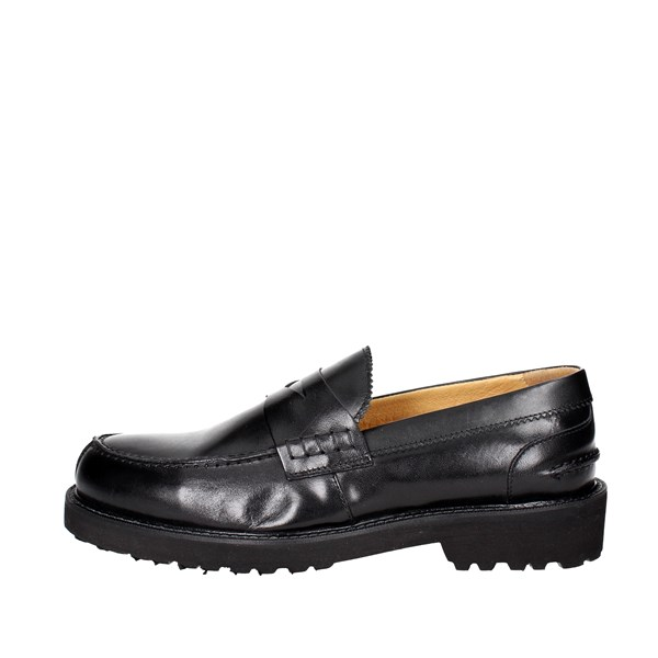 Exton Shoes Moccasin Black 5491