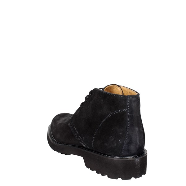 Exton Shoes Comfort Shoes  Black 5445