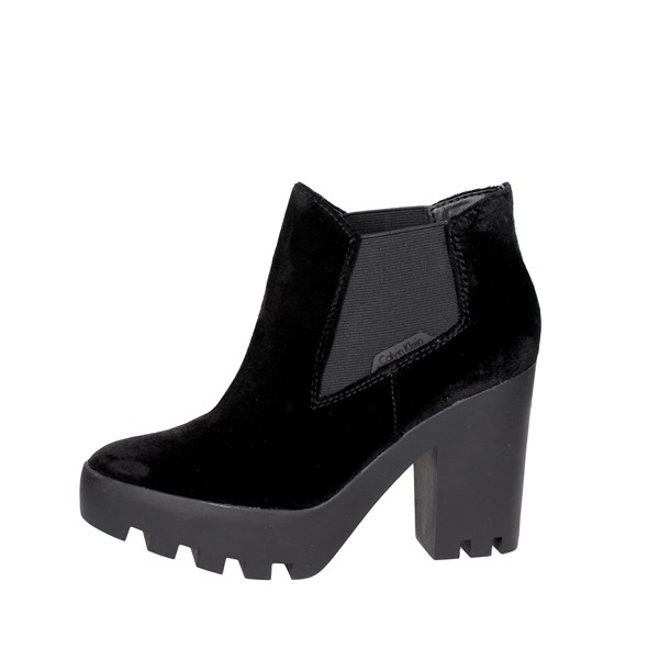 Calvin Klein Jeans Shoes Ankle Boots Black R0590
