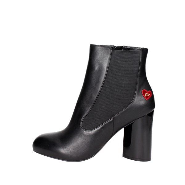 Fornarina Shoes Ankle Boots Black PI18VI1031C000