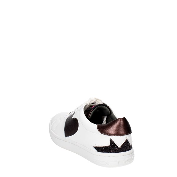 <Fornarina Shoes Sneakers White PI18AN1059VL09