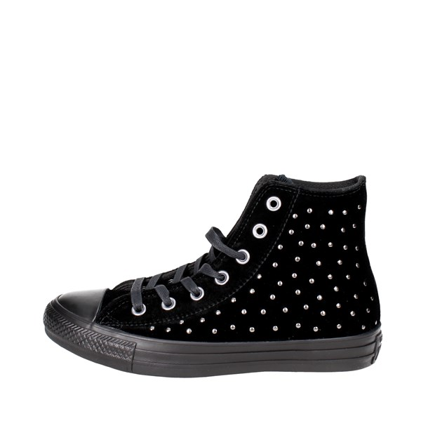 Converse Shoes High Sneakers Black 558991C