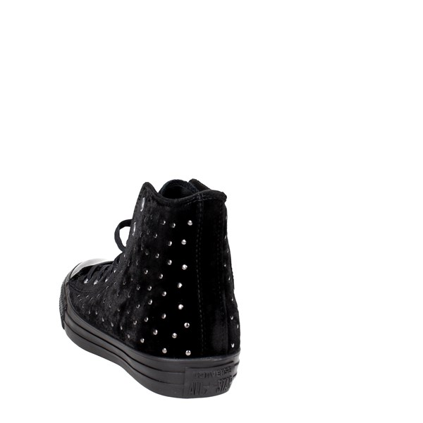 <Converse Shoes High Sneakers Black 558991C
