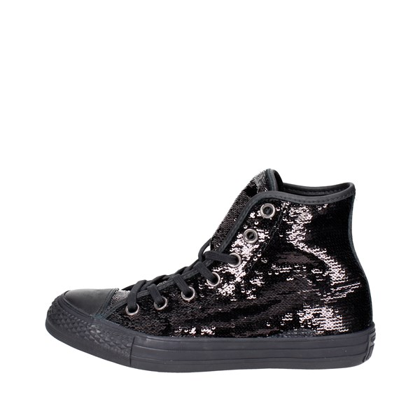 Converse Shoes High Sneakers Black 559074C